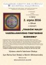 Tradiční malby vadžrajánové-tibetského budhismu budou k vidění od srpna v Galerii Cesty ke světlu Zdeňka Hajného
