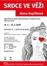 Výstava Srdce ve věži - Alena Kupčíková