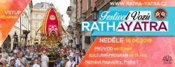 12. ročník indického festivalu vozů Ratha-yatra v Praze