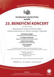 23. Benefiční koncert Arcidiecézní charity Praha