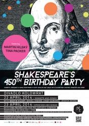 450.výročí narození Wiliama Shakespeara v Divadle Kolowrat