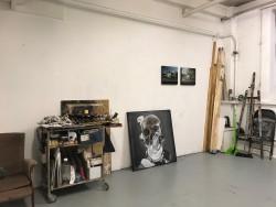 Aktuální pohled do ateliéru Hynka Martince Lost In Time