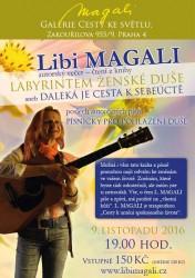 Autorský večer Libi Magali v Křišťálové čajovně