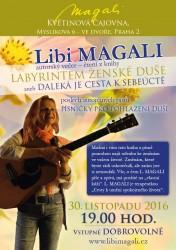 Autorský večer Libi Magali v Květinové čajovně