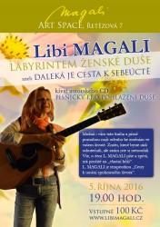 Autorský večer Libi Magali