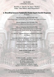 beneficni koncert pro svatojakubske varhany