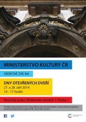 Dny otevřených dveří Ministerstva kultury České republiky