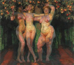 František Kupka : Podzimní slunce, 1905-1906