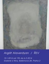 Galerie U Niny: Argišt Alaverdyan - Řev