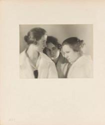 Josef Sudek: Trojportét, 1923