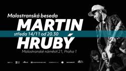 Koncert Martina Hrubého v Malostranské Besedě