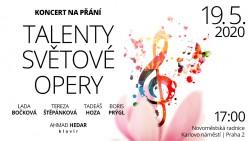 Koncert na přání – Talenty světové opery I.