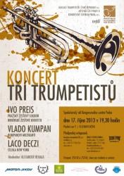 Koncert tří trumpetistů - Kongresové centrum v Praze