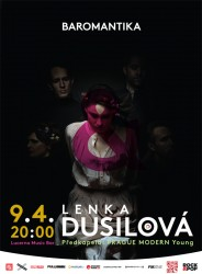 Lenka Dusilová & Baromantika v Lucerna Music Baru