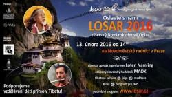 Losar - tibetský Nový rok v Novoměstské radnici