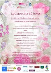 Lucerna na růžovo