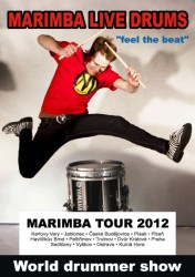 Marimba Live Drums - Feel The Beat