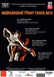 Mezinárodní týdny tance 2016