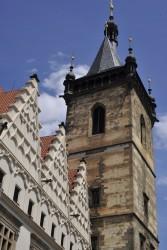 Novoměstská radnice věž