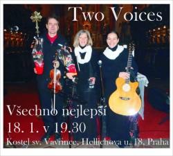 Novoroční koncert Two Voices - Všechno nejlepší