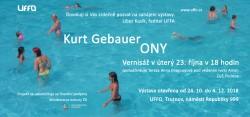 Ony: Kurt Gebauer v Galerii Uffo