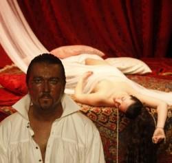 Othello Na Jezerce Vanoce
