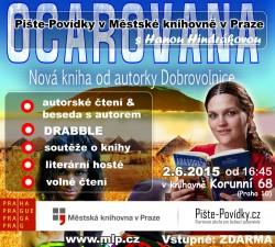 Pište-Povídky v Městské knihovně v Praze s Hanou Hindrákovou
