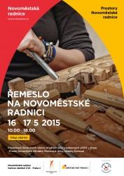 Plakát - řemeslný trh v NR