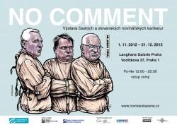 Plakát - Výstava NO COMMENT