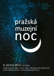 Prazska muzejni noc 2012