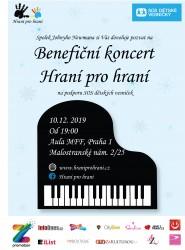 Předvánoční benefiční koncert Hraní pro Hraní