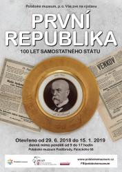 První republika – 100 let samostatného státu
