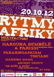 Rytmy Afriky 2012