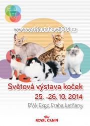 Světová výstava koček 2014