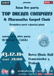 Top Dream Company Vanocni koncert 2011