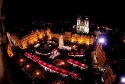 Vanocni trhy v Praze