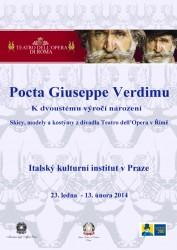Výstava - Pocta Giuseppe Verdimu