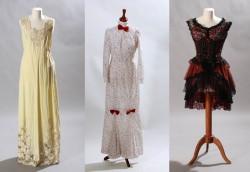 Výstava filmových kostýmů a prádla v OC Chodov