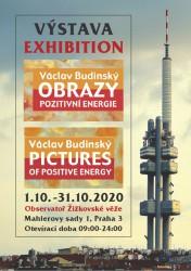 Výstava Obrazů pozitivní energie Václava Budinského