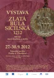 Výstava: Zlatá bula sicilská - 800 let mezi realitou a mýty