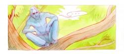 z komiksu Strom - Štěpánka Jislová