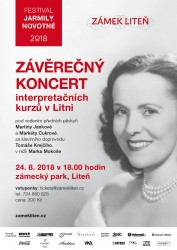 Závěrečný koncert interpretačních kurzů v Litni 2018