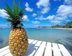 Zdravá strava - ananas